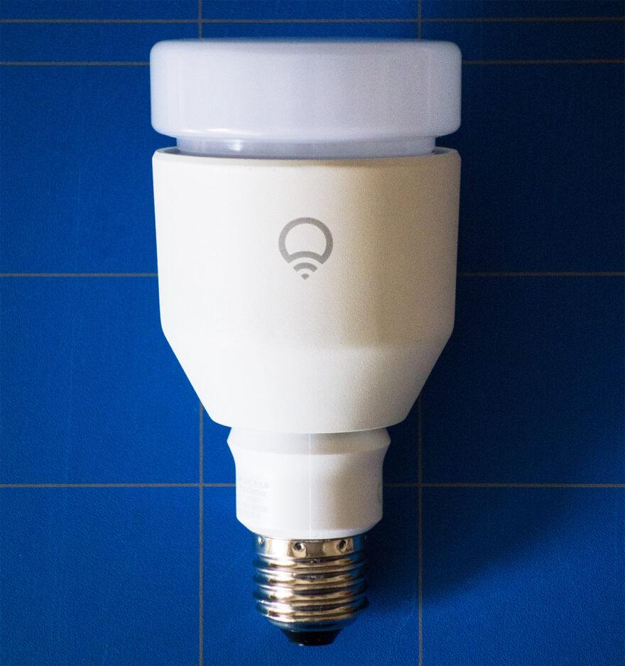 The LIFX bulb.